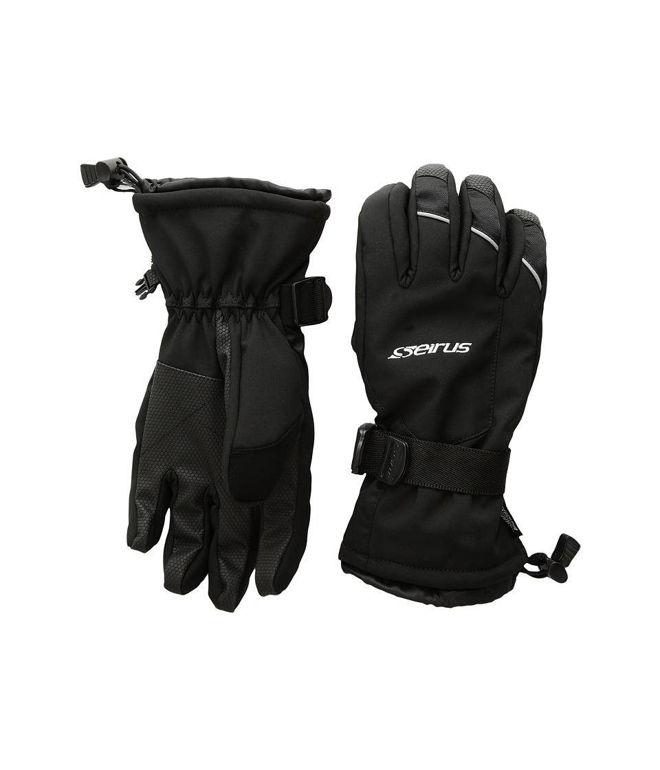Seirus Brook Gloves (Black) Extreme Cold Weather Gloves