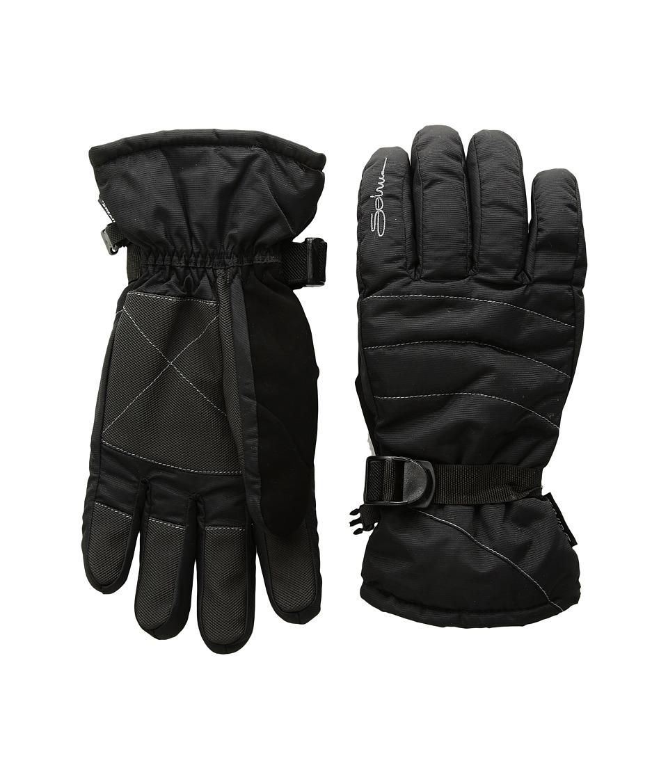 Seirus Stitch Gloves (Black) Extreme Cold Weather Gloves