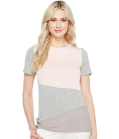 Ivanka Trump - Knit Color Block Short Sleeve Tee
