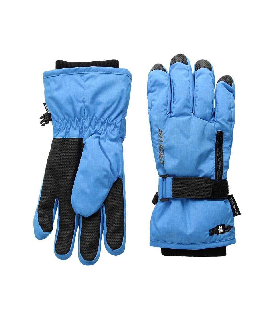Seirus Heatwavetm Jr Stash Glove (Blue) Extreme Cold Weather Gloves