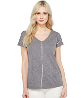 Ivanka Trump - Metallic Stripe Tee