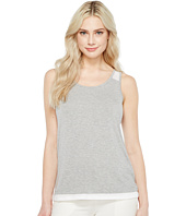 Ivanka Trump - Knit Mesh Back Crew Tank Top