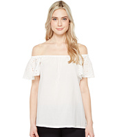 Ivanka Trump - Off the Shoulder Ruffle Blouse