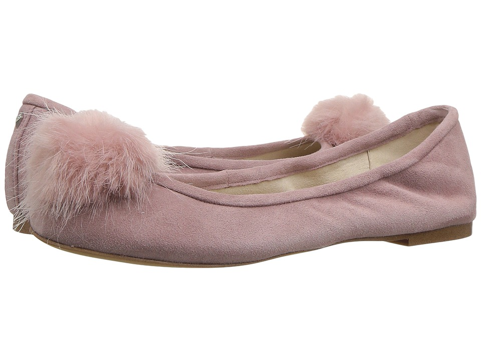Vintage Style Shoes, Vintage Inspired Shoes Sam Edelman - Farina Pink Mauve Kid Suede Leather Womens Shoes $99.95 AT vintagedancer.com