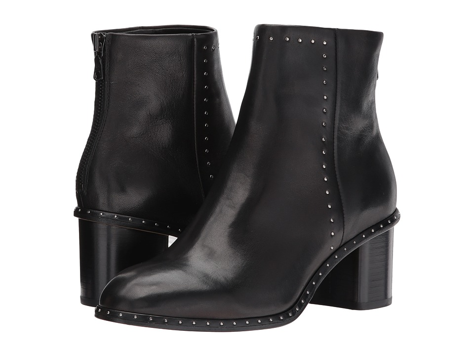 rag & bone - Willow Stud Boot (Black) Womens Boots