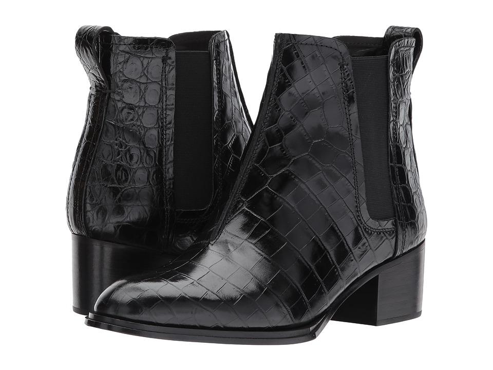 rag & bone Walker II Boot (Black Crocco) Women