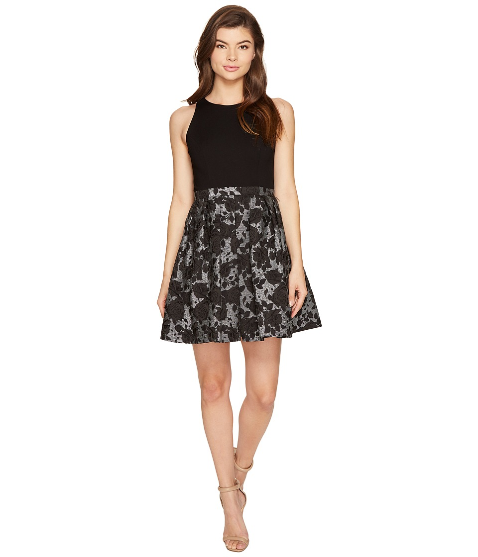 Aidan Mattox Aidan Mattox - Ponte Jacquard Cocktail Dress
