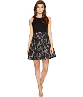 Aidan Mattox - Ponte Jacquard Cocktail Dress