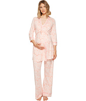 Cosabella - Bella Maternity Print Three-Piece PJ Set
