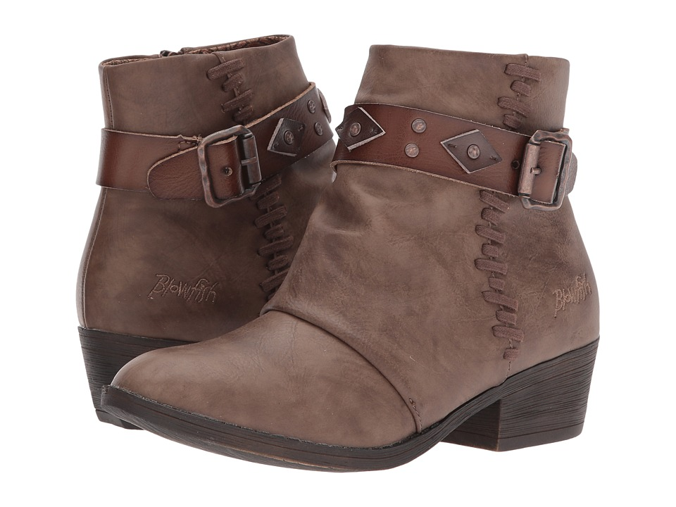 Blowfish Siento (Taupe Lonestar/Tan/Chocolate Dyecut) Women