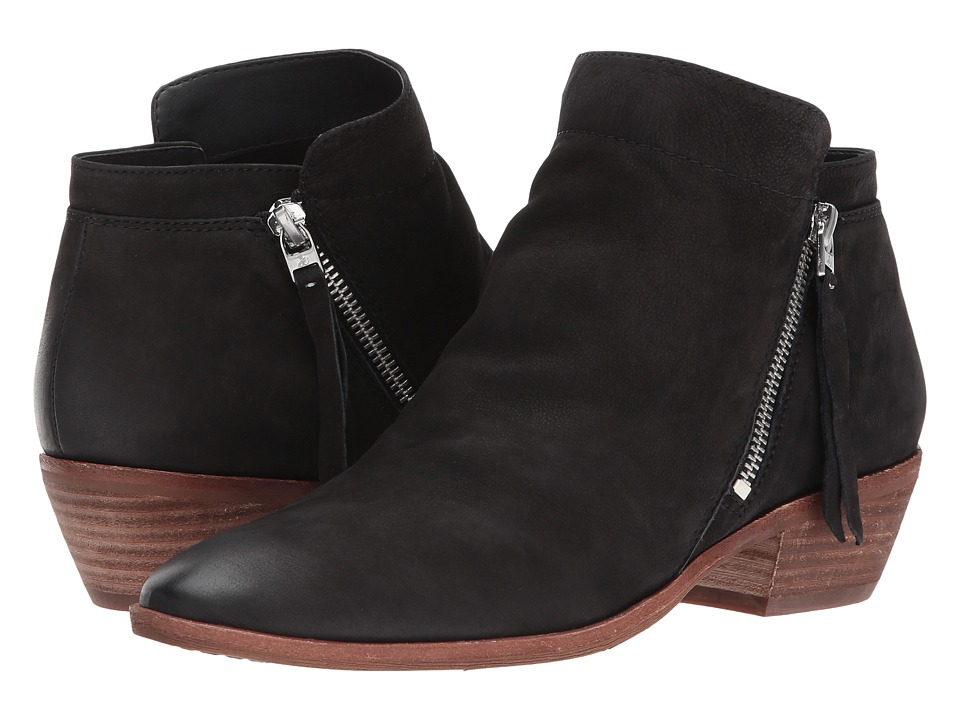 Sam Edelman Packer (Black Waxy Nubuck Leather)