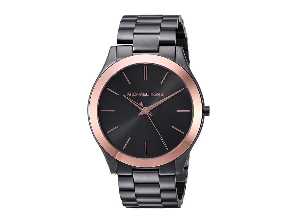 Michael Kors MK8576 - Slim Runway (Grey) Watches