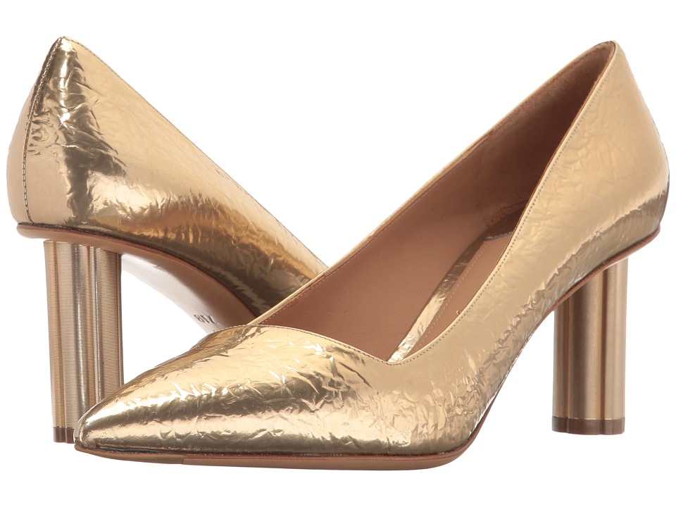 Salvatore Ferragamo Bari 70 (Gold/Giove) High Heels