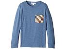 Burberry Kids YNG Long Sleeve T-Shirt (Little Kids/Big Kids)