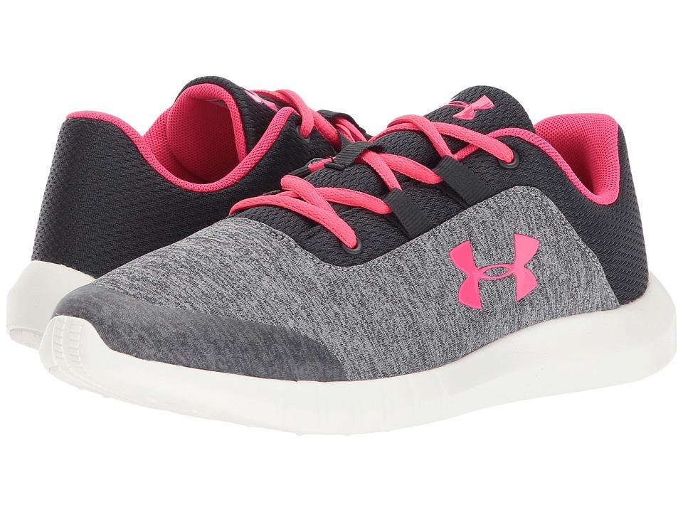 Under Armour Kids UA Mojo (Big Kid) (Anthracite/Overcast Gray/Penta Pink) Girls Shoes
