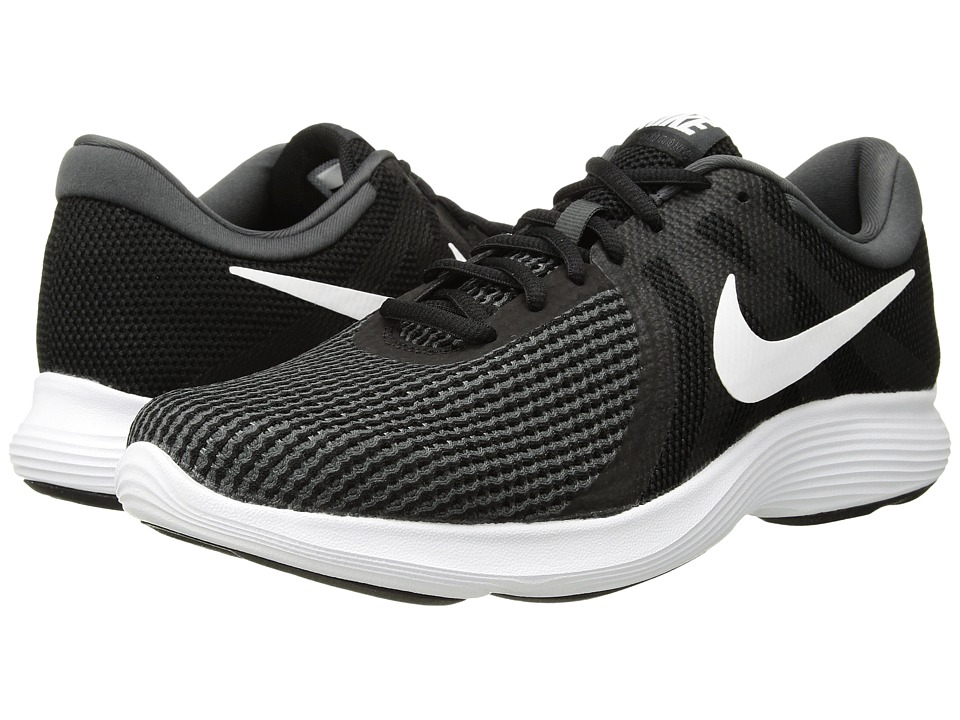 Nike Revolution 4 (Black/White/Anthracite) Women's Running Shoes