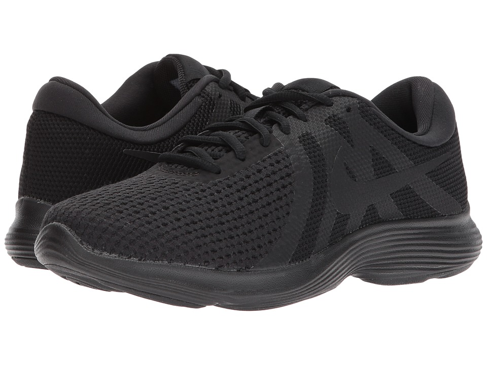 Nike Revolution 4 (Black/Black) Women's Running Shoes