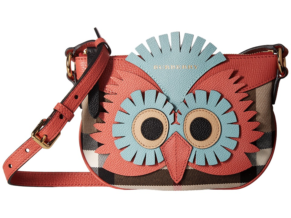 Burberry Kids Owl Flat Bag (Cinnamon Red) Bags