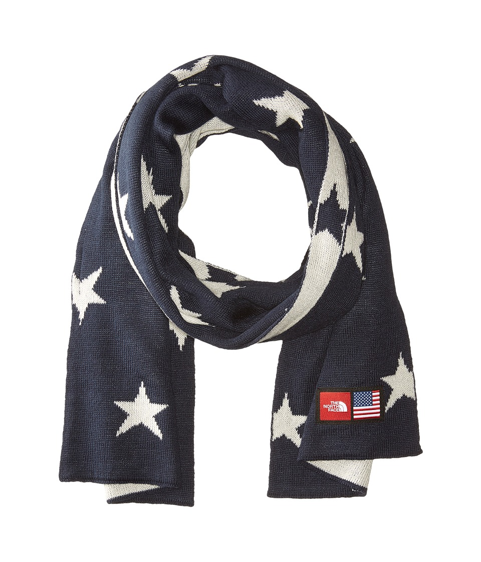 The North Face - International Collection Novelty Scarf (Cosmic Blue Star Print) Scarves