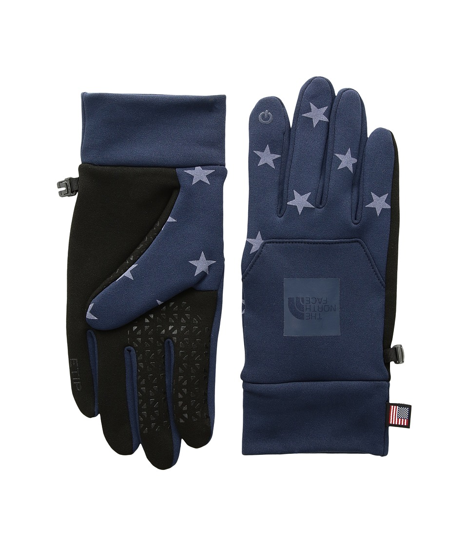 The North Face International Collection Etip Gloves (Cosmic Blue) Extreme Cold Weather Gloves
