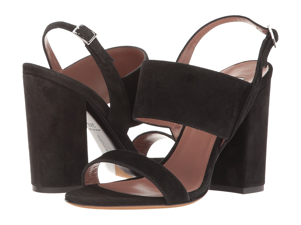 Tabitha Simmons Senna (Black Split Suede) High Heels