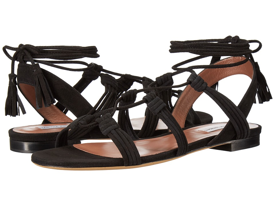 Tabitha Simmons Jax (Black Kid Suede) Women