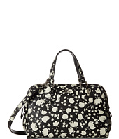 COACH - Floral Printed Leather Mini Nolita Satchel