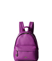 COACH - Polished Pebble Leather Mini Campus Backpack