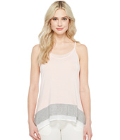 Ivanka Trump - Sleeveless Knit Hanky Hem Tank Top
