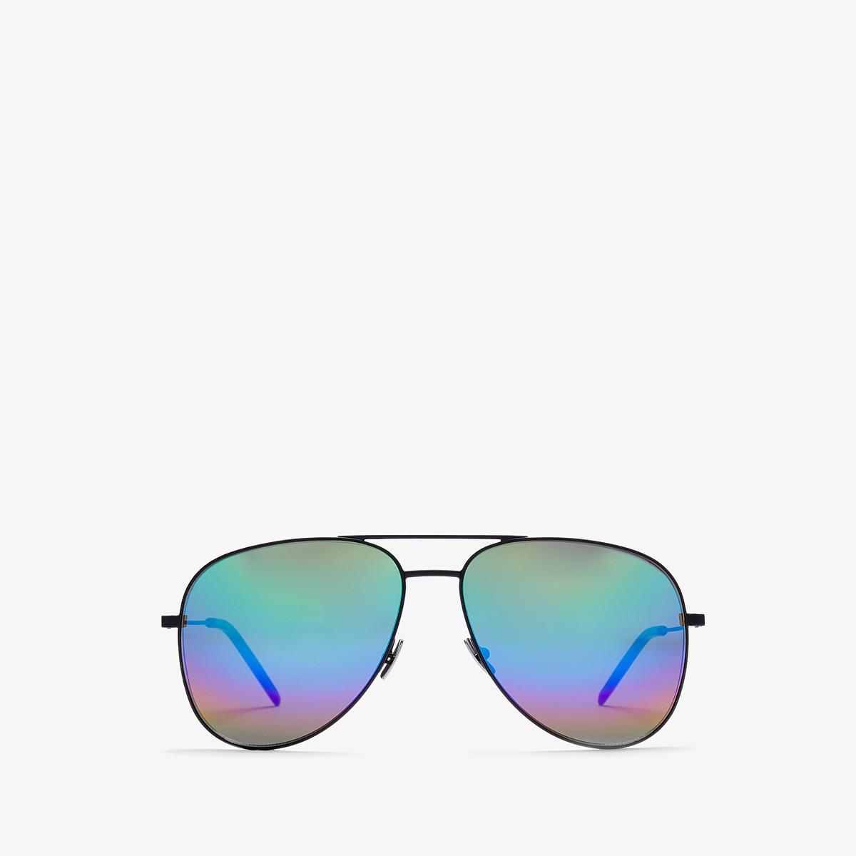Saint Laurent Classic 11 Rainbow - Matte Black/Rainbow Mirror