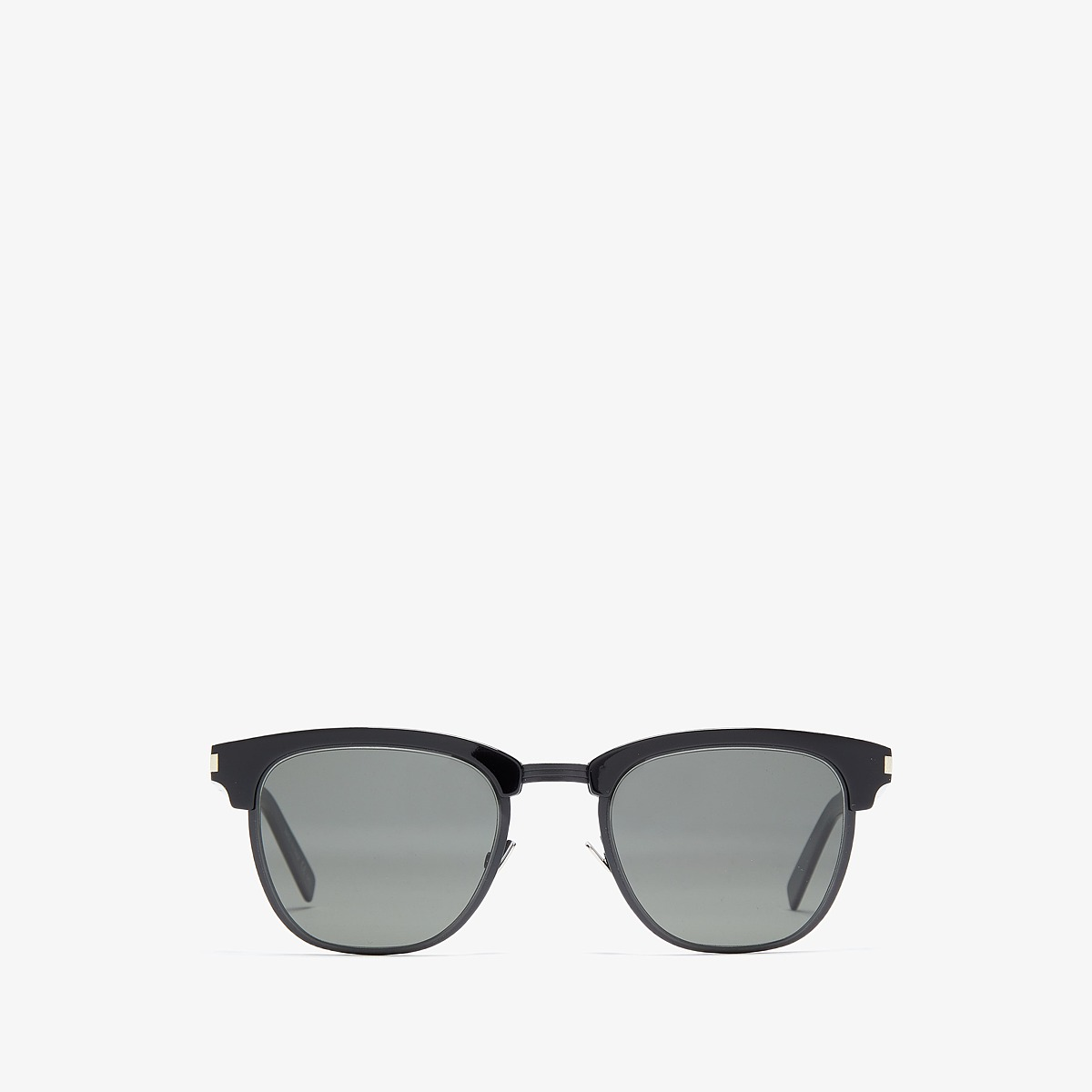 Saint Laurent - SL 108 Slim (Black Matte Black/Grey) Fash...