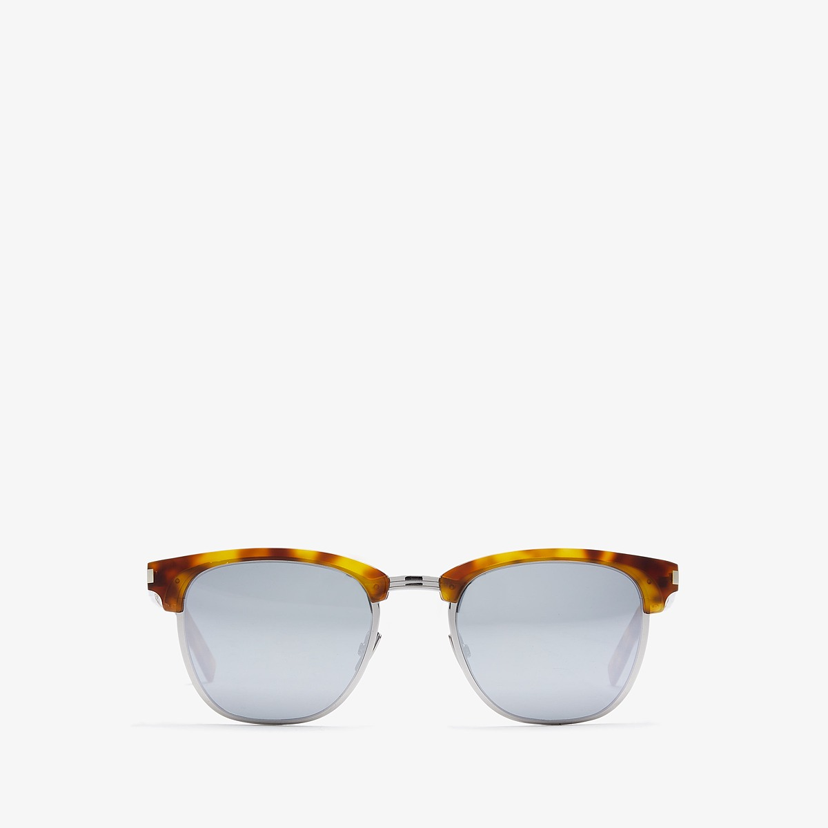 Saint Laurent - SL 108 Slim (Blonde Havana Silver/Silver ...