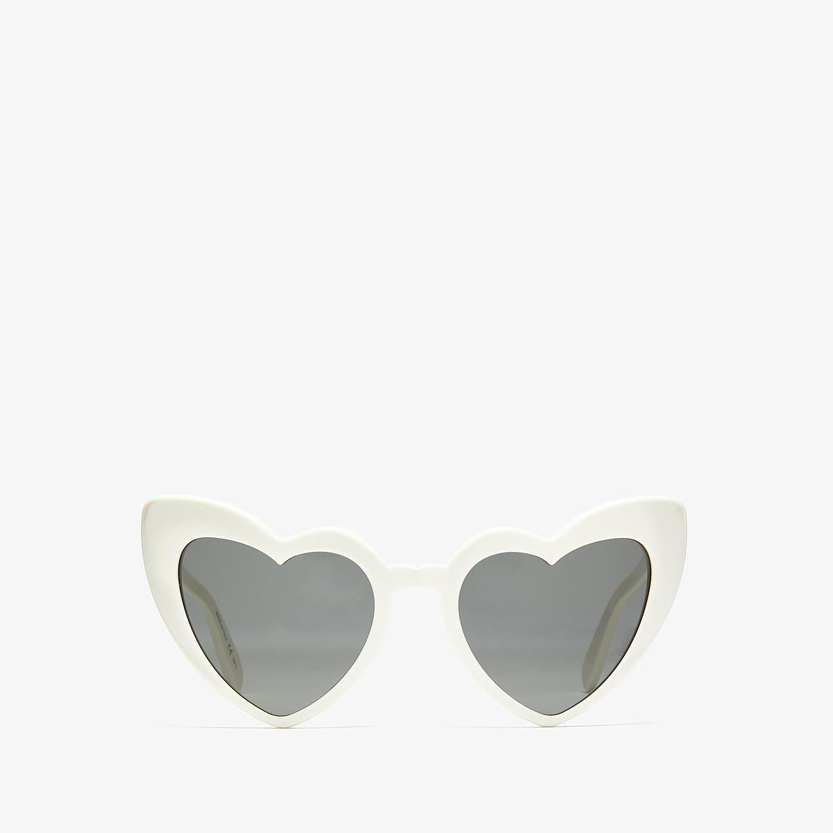 Saint Laurent SL 181 Loulou (Ivory/Grey) Fashion Sunglasses