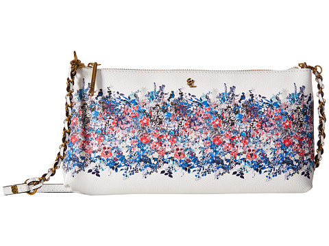 Elliott Lucca Artisan 3 Way Demi Clutch - Denim Bouquet