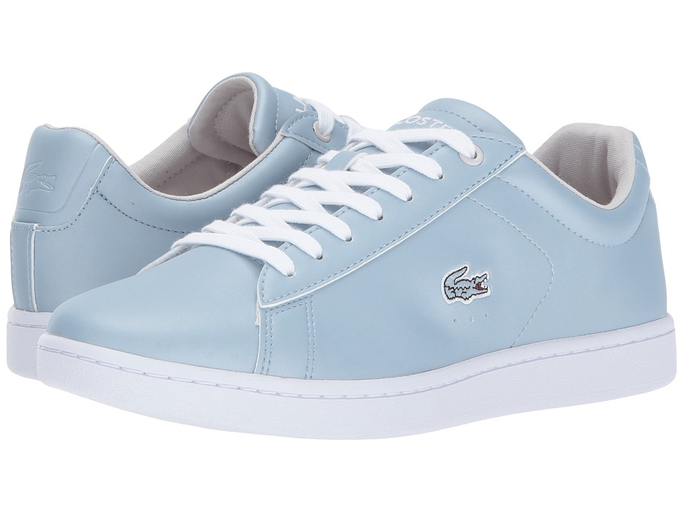 Lacoste Carnaby Evo 317 4 (Light Blue) Women