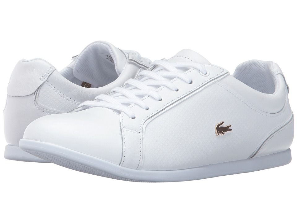 Lacoste Rey Lace 317 1 (White) Women