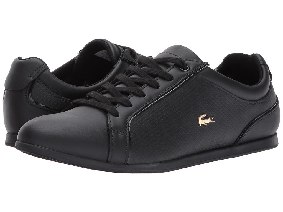 Lacoste Rey Lace 317 1 (Black) Women