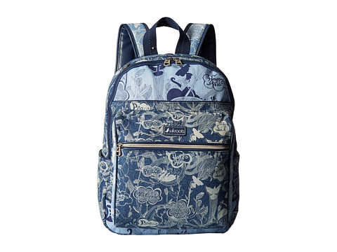 Sakroots Artist Circle Cargo Backpack - Denim Peace