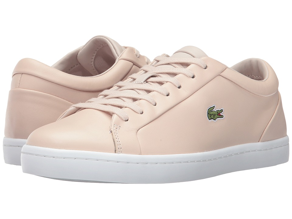 Lacoste Straightset Lace 317 3 (Light Pink) Women