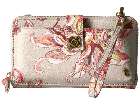 Elliott Lucca Theo Large Smartphone Crossbody - Peach Wildflower