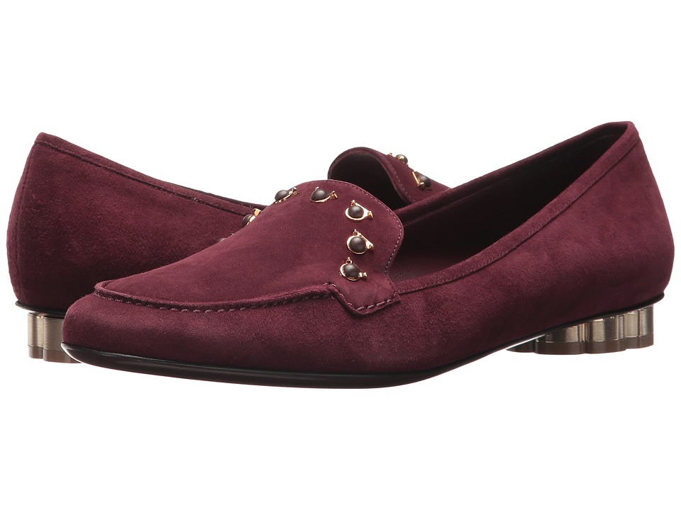 Salvatore Ferragamo Gangi (Deep Bordeaux) Women