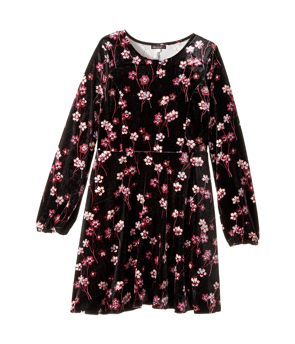 Ella Moss Girl - Priscilla Printed Velour Dress