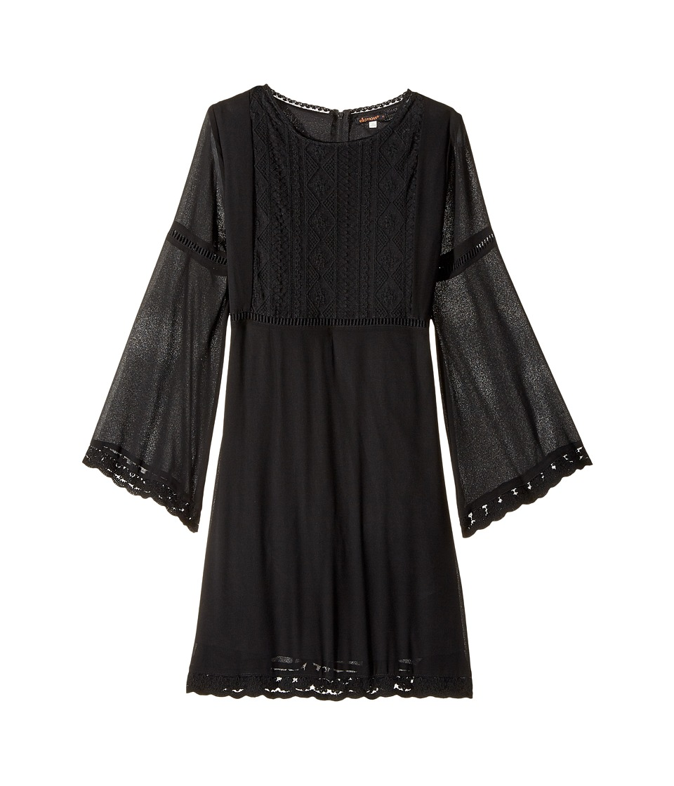 Ella Moss Girl - Elizabeth Chiffon Dress with Bell Sleeve