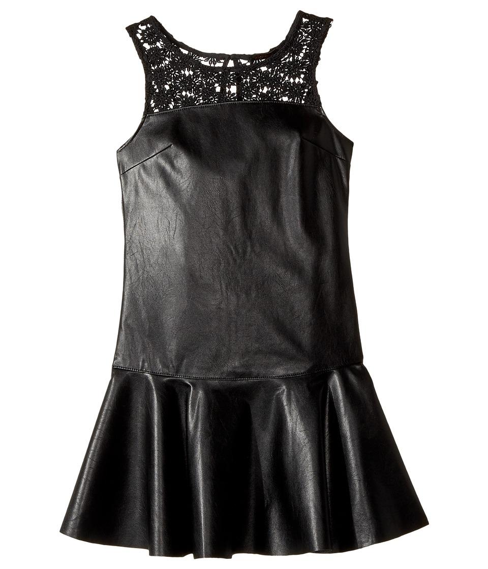 Ella Moss Girl - Jacey Faux Leather Dress