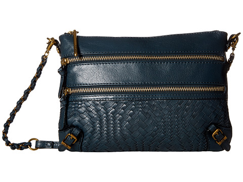 Elliott Lucca Bali 89 3 Zip Clutch - Denim Devi