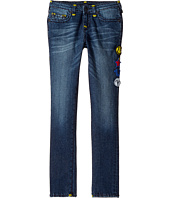 True Religion Kids - Tony Jeans with Patches in Rustic Indigo (Big Kids)