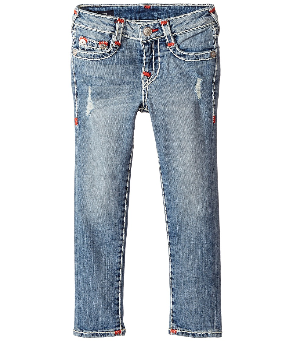 True Religion Kids Casey Super T Skinny in Perry Wash (Toddler/Little Kids) (Perry Wash) Girl