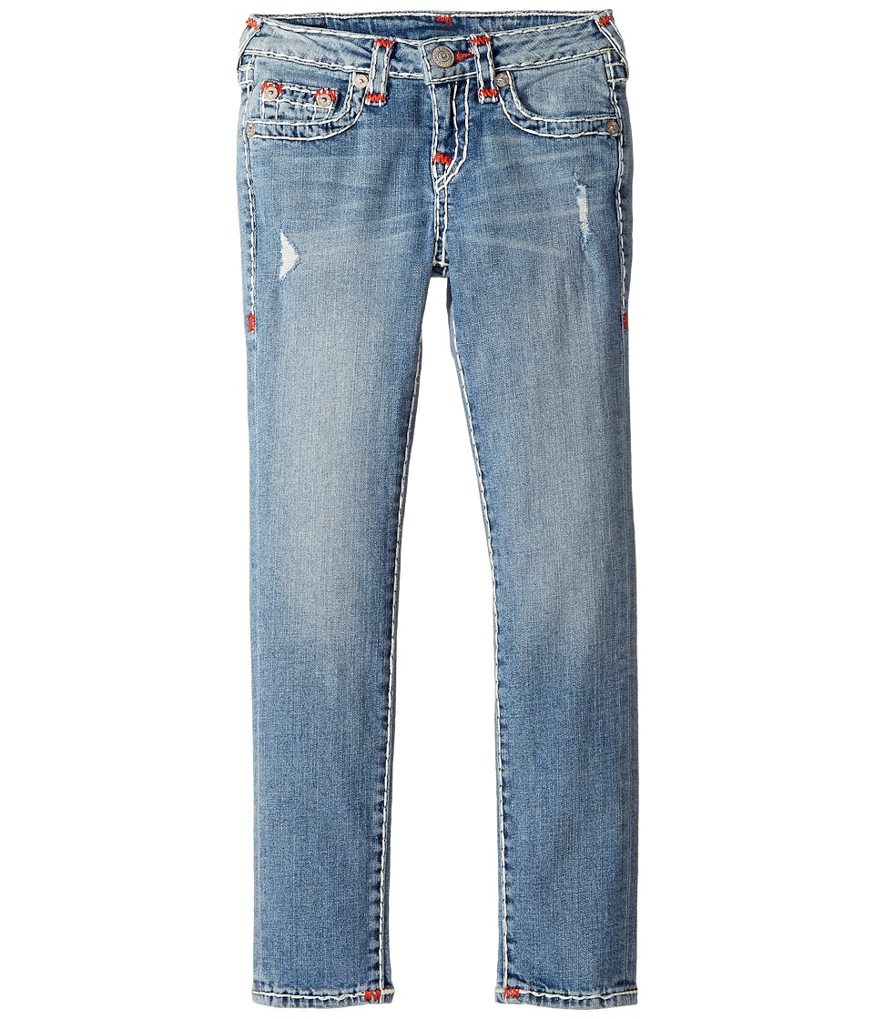 True Religion Kids Casey Super T Skinny in Perry Wash (Big Kids) (Perry Wash) Girl
