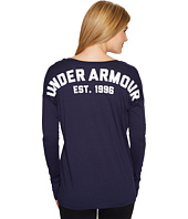 Under Armour - PS Favorite Long Sleeve Wordmark Back