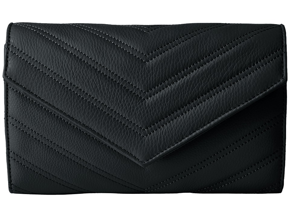 Vince Camuto Daz Clutch (Black) Clutch Handbags